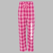 CELEG - F20Y Youth Team Pride Fashion Flannel Pants with Pockets