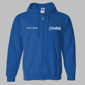 CEZIP - 18600 Adult Heavy Blend™ Full-Zip Hooded Sweatshirt