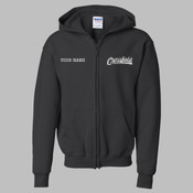 CEZIP - 18600B Youth Heavy Blend™ Full-Zip Hooded Sweatshirt